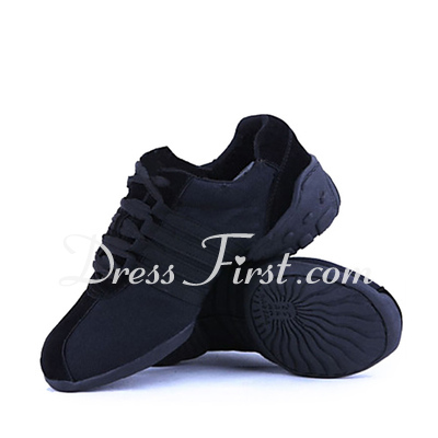 Unisex Canvas Sneakers Practice Dance Shoes (053018515)