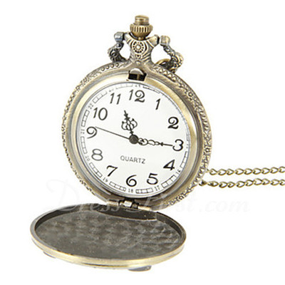Owl Design Pocket Watch (129055576)