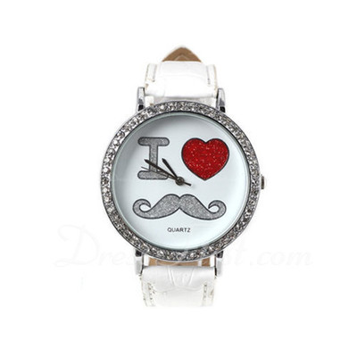 Lovely Leatherette Metal Unisex Watches (137055748)