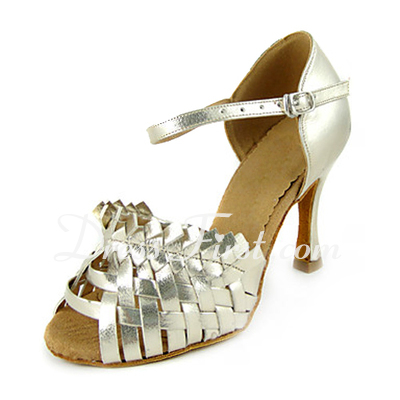 Women's Patent Leather Heels Sandals Latin Dance Shoes (053013349)