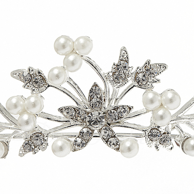 Fashion Alloy/Pearl Tiaras (042017837)