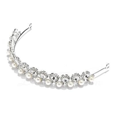 Glamourous Crystal/Pearl Tiaras (042017814)