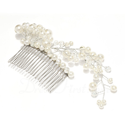 Gorgeous Alloy/Imitation Pearls Combs & Barrettes With Pearl (042026846)