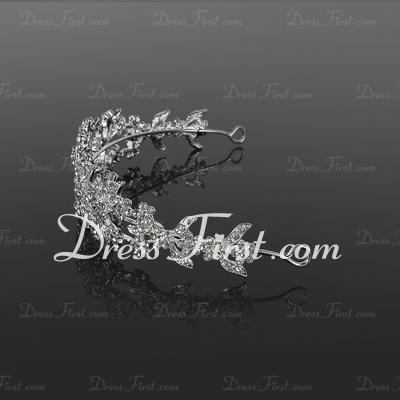Elegant Alloy Tiaras (042017809)