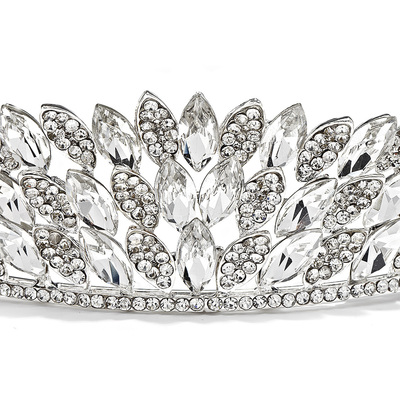 Beautiful Alloy Tiaras (042016700)