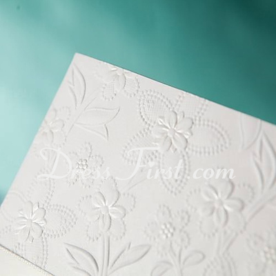 Vintage Style Side Fold Invitation Cards (Set of 50) (114024225)