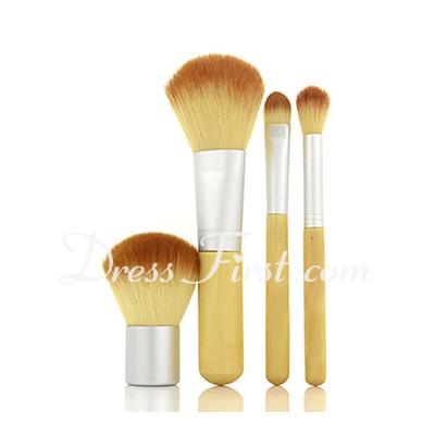 4PCS Nylon Brush with Bamboo Handle  (046026764)