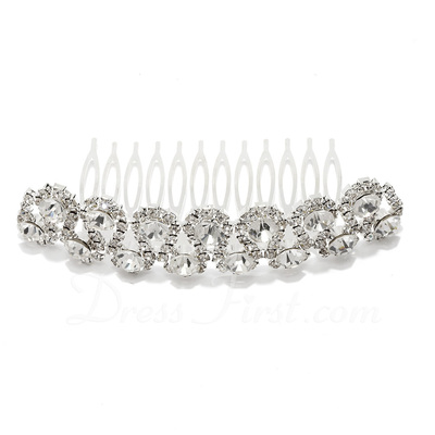 Lovely Rhinestone/Alloy Combs & Barrettes (042026828)