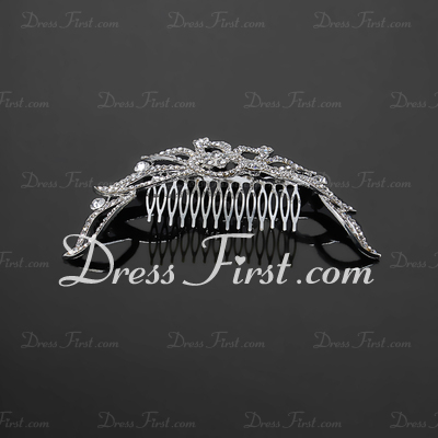 Lovely Rhinestone/Alloy Combs & Barrettes (042017839)