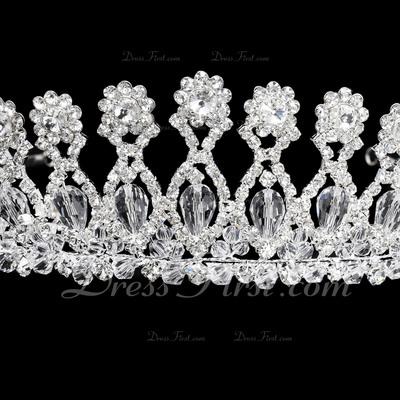 Hermoso Crystal/Aleación Tiaras (042054426)