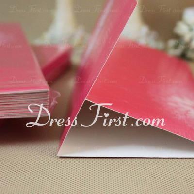 Classic Style Tri-Fold Invitation Cards (Set of 60) (114030726)