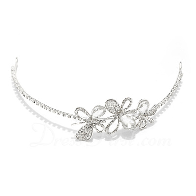 Lovely Crystal/Alloy Tiaras (042017917)