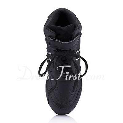 Women's Kids' Leatherette Flats Sneakers Practice Dance Shoes (053012960)