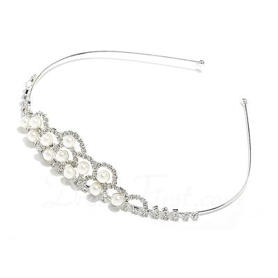 Lovely Alloy/Imitation Pearls Tiaras (042057201)