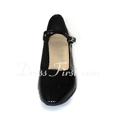 Patent Leather Heels Pumps Modern Dance Shoes (053013356)