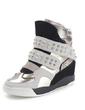 Gerçek Deri Alçak Topuk Ayak bileği Boots Ile Perçin ayakkabı (086057527)