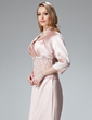 3/4-Length Sleeve Charmeuse Special Occasion Wrap (013004078)