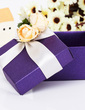 Classic Cuboid Favor Boxes With Flowers (Set of 12) (050039706)