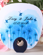 Personalized Spring Flower Plastic Hand Fans (118029520)