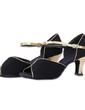 Kadın Nubuk Topuk Sandalet Balo Ile Toka Dans Ayakkabıları (053056422)