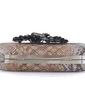 Elegant Faux Leather With Crystal/ Rhinestone Clutches (012033913)