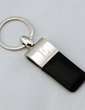 Personalized Leather Design Zinc Alloy Keychains (Set of 4) (051029052)