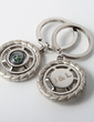 Personalized Compass Zinc Alloy Keychains (Set of 4) (051028932)
