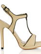 Suede Stiletto Heel Sandals Slingbacks With Buckle shoes (087017929)