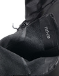 Real Leather Flat Heel Ankle Boots With Lace-up shoes (088057516)