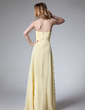 A-Line/Princess Halter Floor-Length Chiffon Evening Dress With Ruffle Beading (017004459)