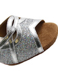 Women's Leatherette Sparkling Glitter Heels Sandals Latin Dance Shoes (053018536)