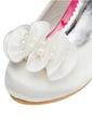 Çocuk Satin Alçak Topuk Kapalı Toe Pompalar Ile Toka Çiçek (047056271)