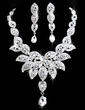 Magnificent Alloy/Rhinestones Ladies' Jewelry Sets (011026999)