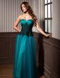 Çan/Prenses Kalp Kesimli Uzun Etekli Tulle Gece Elbisesi Ile Büzgü Lace (017005816)