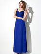 Empire Sweetheart Floor-Length Chiffon Bridesmaid Dress With Lace Beading (007020653)