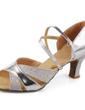 Women's Leatherette Heels Sandals Latin Ballroom Dance Shoes (053007246)