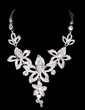 Flower Shaped Alloy/Rhinestones Ladies' Jewelry Sets (011028381)