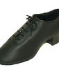 Men's Real Leather Latin Ballroom Dance Shoes (053013478)