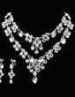 Gorgeous Legering/Strass Damer' Smycken Sets (011026996)
