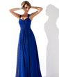 Empire Sweetheart Floor-Length Chiffon Prom Dress With Ruffle (018112693)