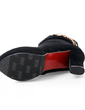 Süet Kalın Topuk Ayak bileği Boots Ile Pul ayakkabı (088056302)