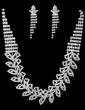Shining Alloy/Rhinestones Ladies' Jewelry Sets (011027655)
