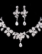Beautiful Alloy With Rhinestone Ladies' Jewelry Sets (011018473)