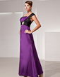 Empire Sweetheart Ankle-Length Charmeuse Mother of the Bride Dress With Ruffle Sash Beading (008014418)