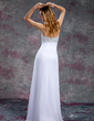 Empire Sweetheart Floor-Length Chiffon Prom Dress With Beading Sequins (018018863)