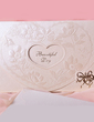 Heart Style Tri-Fold Invitation Cards (Set of 50) (114033288)