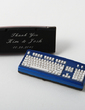 Personalized Keyboard Design Zinc Alloy Lighter (Set of 4) (051029015)