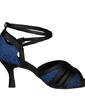 Kadın Satin Köpüklü Glitter Topuk Sandalet Latin Ile Ayakkabı Askısı Dans Ayakkabıları (053056400)