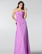 Empire Sweetheart Floor-Length Chiffon Bridesmaid Dress With Ruffle Beading Sequins (007005214)