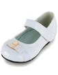 Kids' Leatherette Flat Heel Closed Toe Flats With Buckle (047039158)